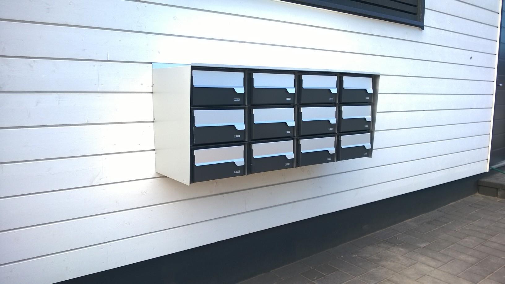 PP Ryhmäpostilaatikot ratkaisevat kiinteistöjen postiongelmat