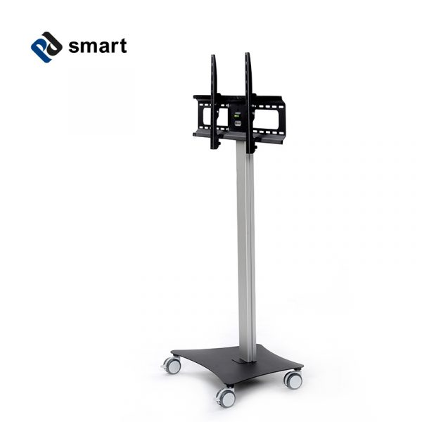 movable tv-stand, tv-stand, tv-rack, mobile tv-rack, mobile screen stand, movable screen stand, movable screen stand, movable workstation, screen rack, monitor rack, movable office equipment, movable screen, tv cart