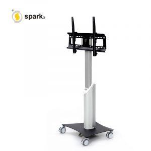 liikuteltava tv-teline, tv-teline, monitoriteline, liikuteltava tv-teline, liikkuva tv-teline, tv rullateline, läppäriteline, liikuteltava työpiste, televisioteline, liikutettava tv-jalusta, tv-jalusta, ergonominen tv-teline